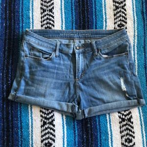 Articles of Society Cut-off shorts
